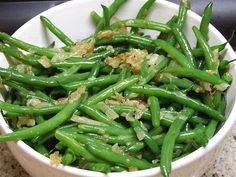 This recipe for green beans with caramelized shallots turns out a sweet, wonderful accompaniment for beef, pork or chicken.