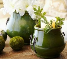 It's Spring!!  Lots of green inspiration here!