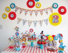 Circus /Carnival Birthday Party Ideas | Photo 9 of 10