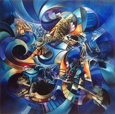 Blue floyd by Amytea.deviantart.com on @deviantART