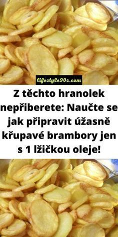 Czech Recipes, Kfc, Cholesterol, Thing 1, Food And Drink, Cooking Recipes, Potatoes, Vegetarian, Yummy Food