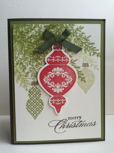Features Keepsake Ornaments & Lovely as a Tree.  Contact me for the tutorial.  Peace, Love and Joyce