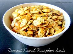 The Reedy Review: Roasted Ranch Pumpkin Seeds