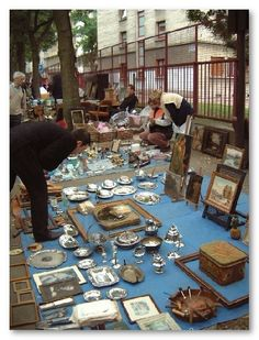 Paris Flea Market - on my list of things to do before I die