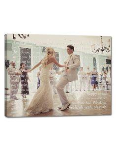 sweet wedding keepsake!