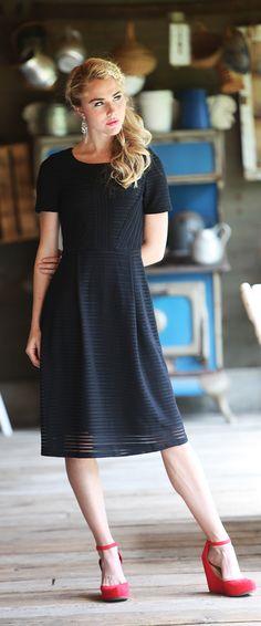 Scarlett Dress [MDF1822] - $64.99 : Mikarose Boutique, Reinventing Modesty