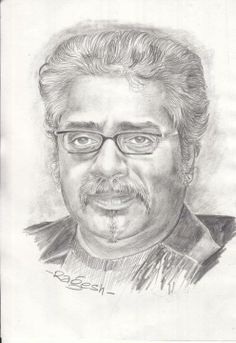 A very beautiful sketch of me shared by one of my fans.