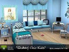 Shabby for the kids room. You will need the recommended items for the bench. Found in TSR Category 'Sims 3 Kids Bedroom Sets' Toddler Furniture, Sims 4 Cc Furniture, Furniture Sets, Home Furniture, Sims 3 Rooms, 3 Kids Bedroom, Bedroom Lamps, Toddler Rooms, Shabby Chic Bedrooms