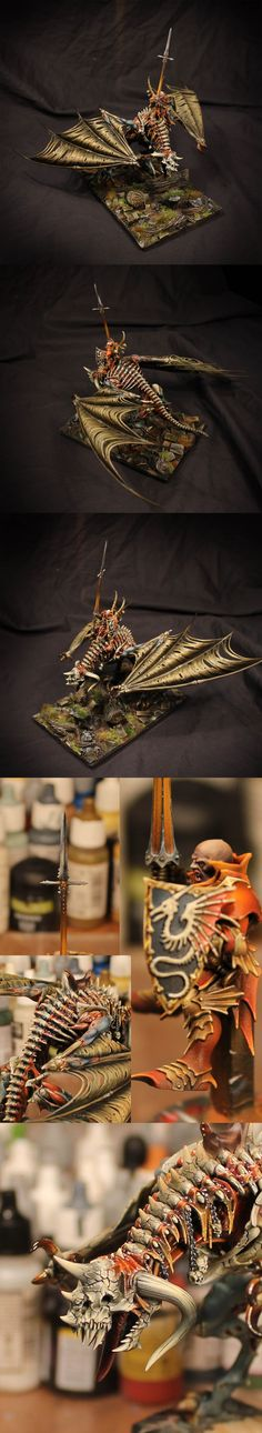Vampire Lord on Zombie Dragon (Russian Alternative. The Spring Angel 2013), third place
