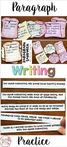 Help your students learn how to write paragraphs more efficiently with these activities that are scaffolded for your struggling writer! Expository Writing, Paragraph Writing, Editing Writing, Cool Writing, Essay Writing, Opinion Writing, Writing Prompts, Pre Writing, Writing Practice