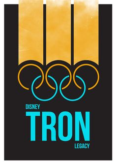Love this original take on the Tron Legacy poster.