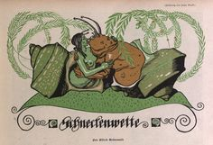 Early 1900s Humor Magazine Illustrations by Franz Wacik: 18-1909-Wacik-9_900.jpg