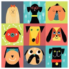 Rob Hodgson, Pooch Parade from Little Boxes published by Urban Graphic