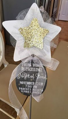 "Time to catch up on some blog stuff! We had our Young Women's in Excellence in November. Our theme was ""Night of Stars"" - since our girls a..."