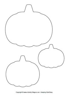 use this pumpkin template in your autumn fall or halloween craft projects or scrapbooking