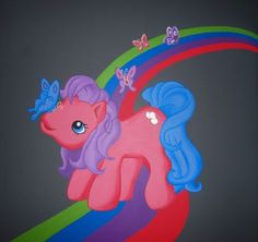muurschildering My Little Pony