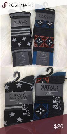2 pair of Buffalo socks. Price is for two pair bundle. New socks. Buffalo by David Bitton. Buffalo David Bitton Underwear & Socks Casual Socks