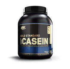 Optimum Nutrition 100 Casein Protein Creamy Vanilla 4 Pound ** Details can be found at