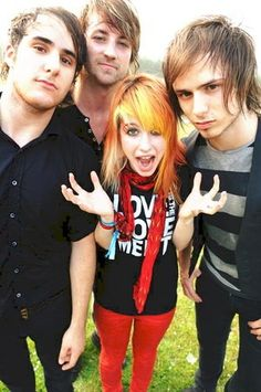 Paramore band on their coolest years.