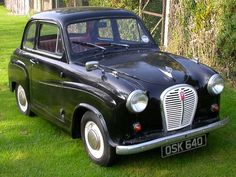 Austin - first car I ever drove. Classic Cars British, Old Classic Cars, Classic Mini, Austin Cars, Old Lorries, Cars Uk, Classic Motors, Unique Cars, Commercial Vehicle