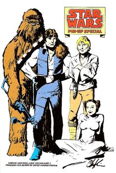 "Marvel Comics' adaptation of ""Star Wars"" was drawn by Howard Chaykin. It was my introduction both to comics and Chaykin's work. My interests in both persist to this day."