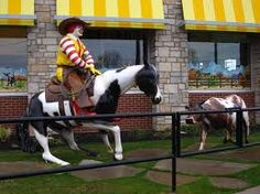 Weatherford, TX Mcdonalds. Cutting horse capital of the world. Creation brought to life by The Store Decor in Rowlett Texas! gotsdc.com!