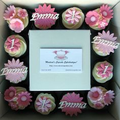 1st Birthday Cupcakes by clevercupcakes, via Flickr