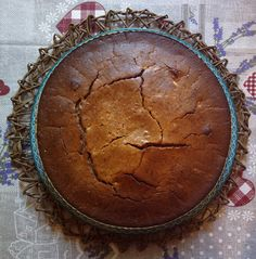 Fondente di farina di castagne – torta soffice toscana
