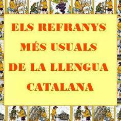 Enquesta per a determinar els refranys més usuals de la llengua catalana http://www.refranysmesusuals.cat