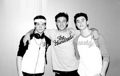 Taylor Caniff,Cameron Dallas, and Nash Grier!! <3