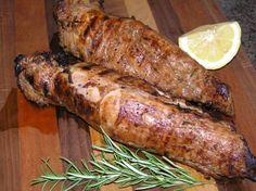 Rosemary Balsamic Garlic Marinated Grilled Pork Tenderloin