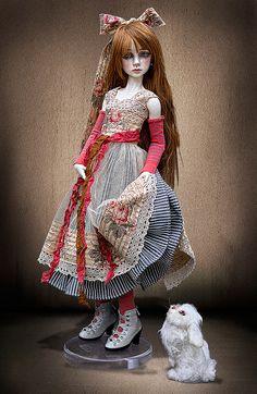 Dollstown Arin in Lililace by jeanoak, via Flickr