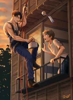 A gift for you (Ereri)