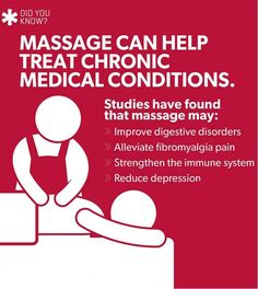 Regular massage can reduce stress and lower blood pressure, and improve blood circulation and concentration. But that's not all.
