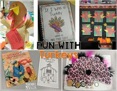 Fun Turkey Activities - freebies included! - Teacher by the Beach