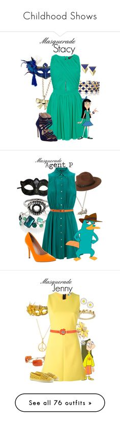"""""""Childhood Shows"""" by jivy44 ❤ liked on Polyvore featuring disney, Effy Jewelry, Minor Obsessions, Topshop, Trina Turk, Miu Miu, BIBI VAN DER VELDEN, Ippolita, Masquerade and Sole Society"""