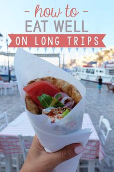 Long-term travel is a fun, eye-opening experience—but it can be hard on your health! You may be tempted to gobble down local pastries and eat out every day. But maintaining a healthy diet during travel doesn't have to be a problem. Here are my top tips on how to eat well on long trips!