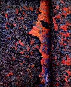 Rust   さび   Rouille   ржавчина   Ruggine   Herrumbre   Chip   Decay   Metal   Corrosion   Tarnish   Texture   Colors   Contrast   Patina   Decay   Don Taylor