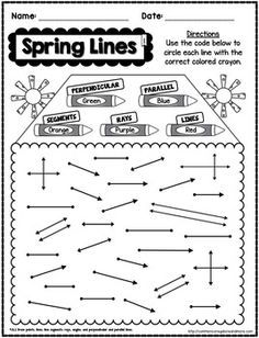 Types of Lines ( parallel, intersecting, or perpendicular