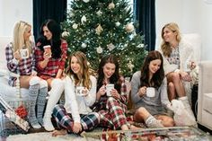 The Miller Affect and Dallas Blogger friends posting about pajama party ideas for Christmas