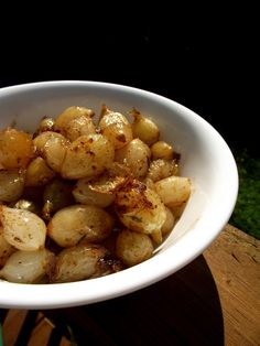 Julia Child's Caramelized Braised Pearl Onions