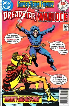 Super-Team Family: The Lost Issues!: Dreadstar and Warlock