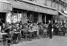 Shop Black & White Paris Cafe Panel Wall Art created by ScreamingShadows. Personalize it with photos & text or purchase as is! Paris 1920s, Old Paris, Paris Paris, Le Dome Paris, Vintage Prints, Sidewalk Cafe, Paris Ville, Man Ray, Photo Essay