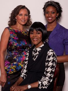 Vanessa Williams, left, Cicely Tyson and Condola Rashad (Phylicia Rashad's daughter and Debbie Allen's niece) star in 'Trip to Bountiful.'
