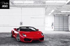 "Lamborghini Gallardo Spyder on ""5.2.1 SL"" ADV.1 Wheels"