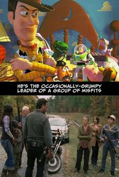 """Undeniable Proof That """"The Walking Dead"""" And """"Toy Story"""" Have The Exact Same Plot - BuzzFeed Mobile"""