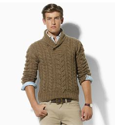 This one needs more vibrant colors but I like it. Male Sweaters, Winter Sweaters, Sweater Weather, Men Sweater, Kids Outfits, Casual Outfits, Sweater Knitting Patterns, Mens Jumpers, Knitwear