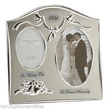 "Two Tone Silverplated Wedding Anniversary Gift Photo Frame – Pearl Anniversary"" - The Wall Clock 25 Wedding Anniversary Gifts, Pearl Anniversary, Anniversary Gifts For Parents, Anniversary Pictures, Anniversary Ideas, Anniversary Quotes, Anniversary Frames, Marriage Anniversary, Anniversary Invitations"