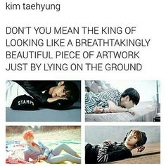 *gasp* WHY DO YOU SHAKE MY HEART SO BADLY KIM TAEHYUNG?!