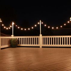 Rooftop deck lighting ideas for outdoor lighting. Lighting can expand the usage and also satisfaction of an exterior deck, increase safety and security. Outdoor Deck Lighting, Outdoor Decking, Cafe Lighting, Dock Lighting, Deck Lighting Ideas Diy, Farmhouse Deck Lighting, Rooftop Lighting, House Lighting, Pergola Lighting
